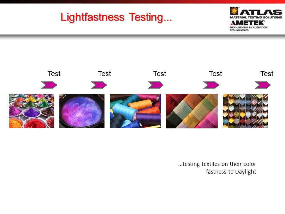 ...Xenon becomes the industry standard 1950: lightfastness test methods specify Xenon light...