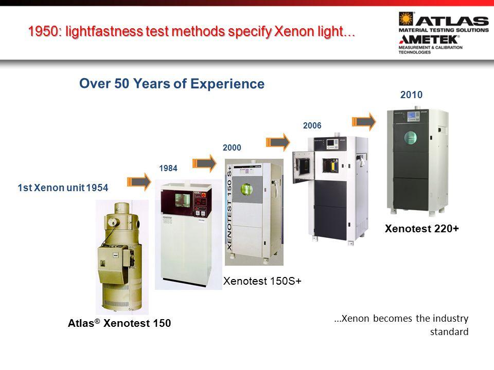 25 ACCESSORIES... for Xenotest 440