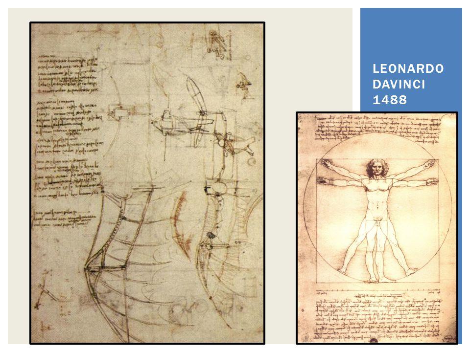 LEONARDO DAVINCI 1488