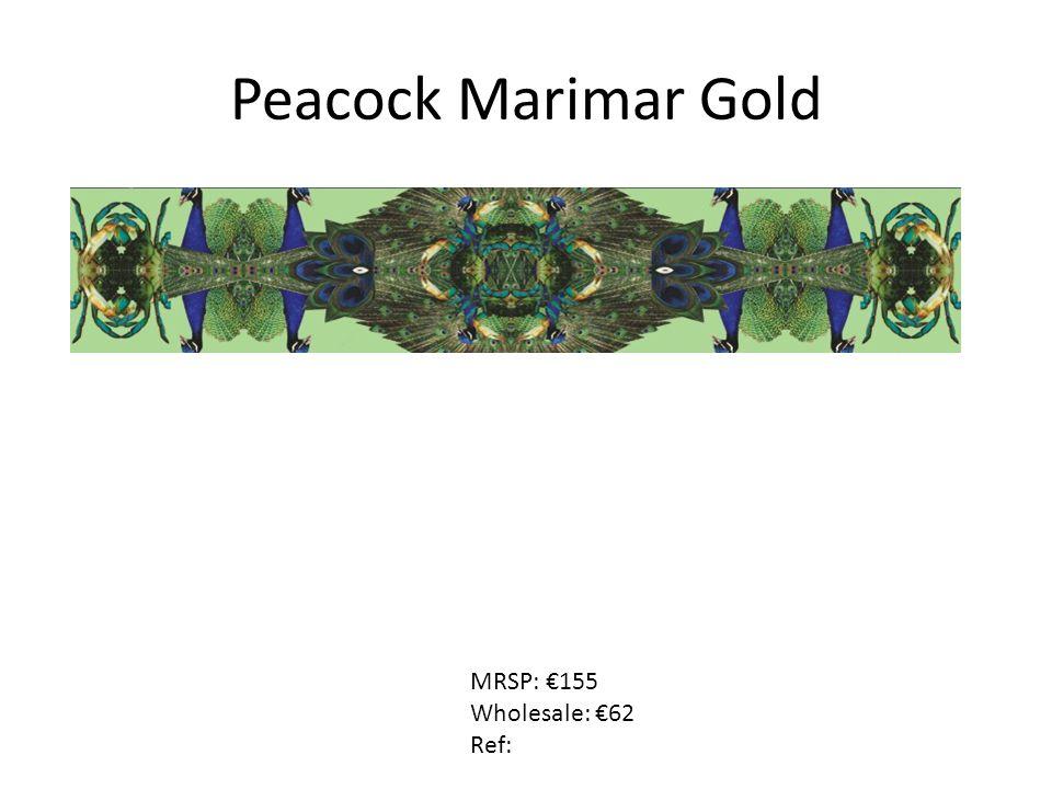Peacock Marimar Gold MRSP: €155 Wholesale: €62 Ref: