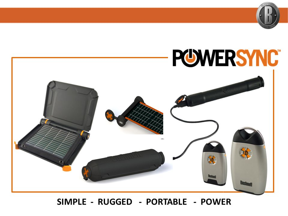 SIMPLE - RUGGED - PORTABLE - POWER
