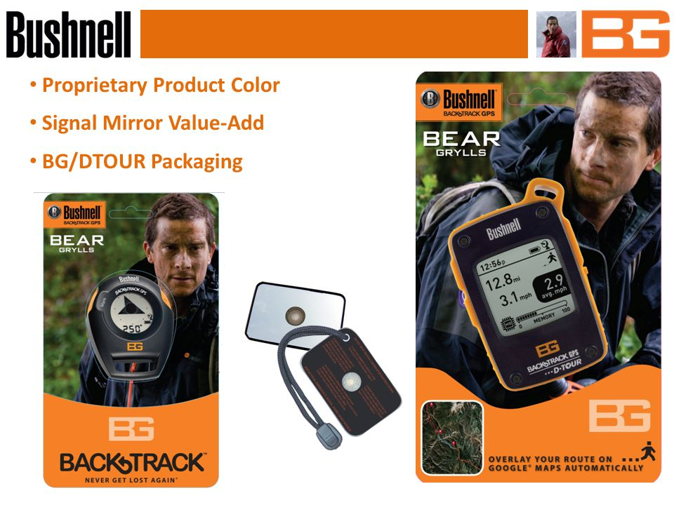 Sports Optics Key Features BaK4 prisms Twist-up eyecups Waterproof Product Colors: Black with orange accent and logo Proposed Pricing Targeted Availability 2/1/2013 9x32 10x42 Case 8x25 ConfigurationBass PriceSugg.