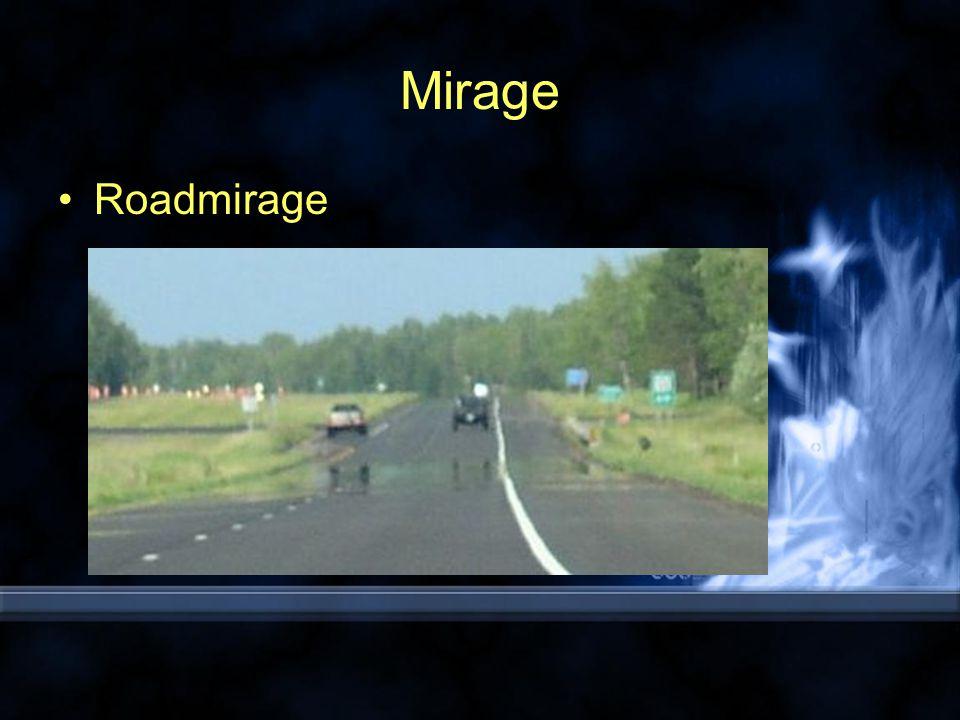 Mirage Roadmirage