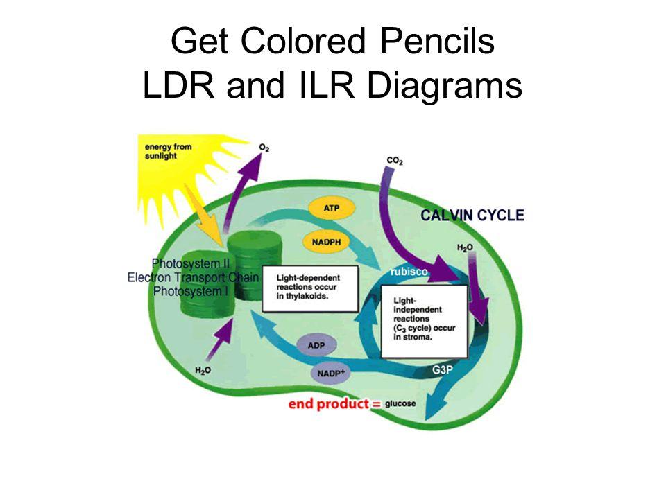 Get Colored Pencils LDR and ILR Diagrams