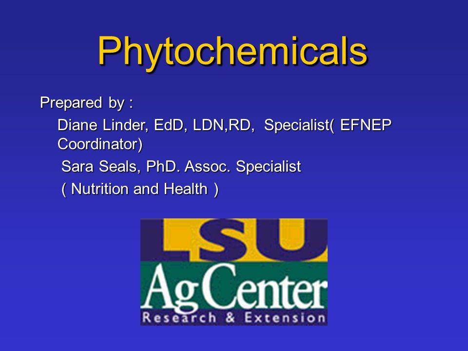 Prepared by : Diane Linder, EdD, LDN,RD, Specialist( EFNEP Coordinator) Sara Seals, PhD. Assoc. Specialist Sara Seals, PhD. Assoc. Specialist ( Nutrit