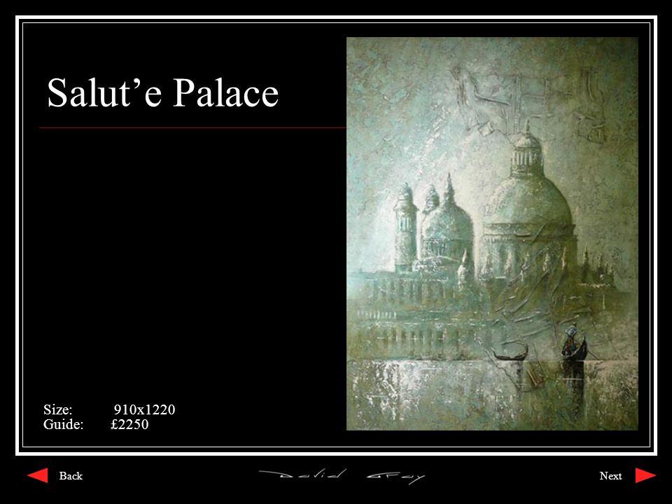 Salut'e Palace Size: 910x1220 Guide:£2250 NextBack