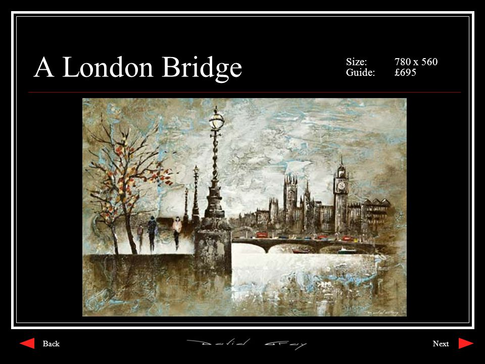 A London Bridge Size:780 x 560 Guide:£695 NextBack