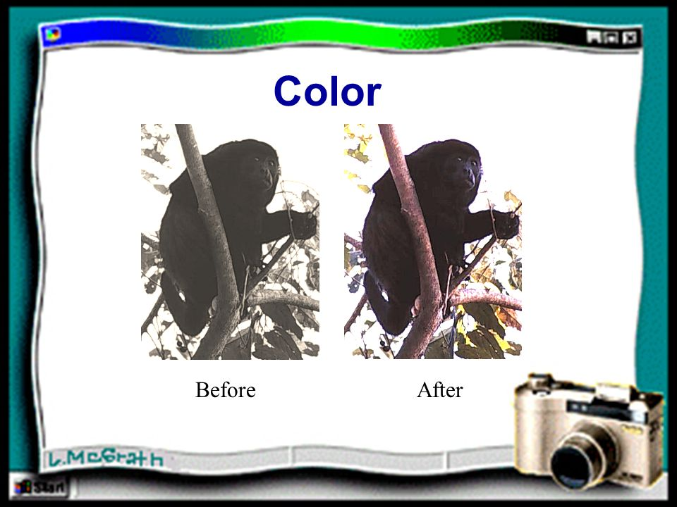 Color BeforeAfter