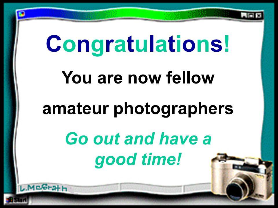 Congratulations!Congratulations.
