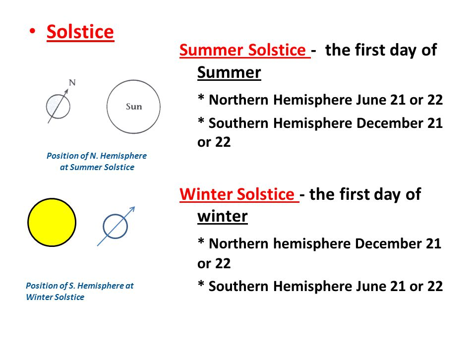 What are some similar and differences between summer and winter?
