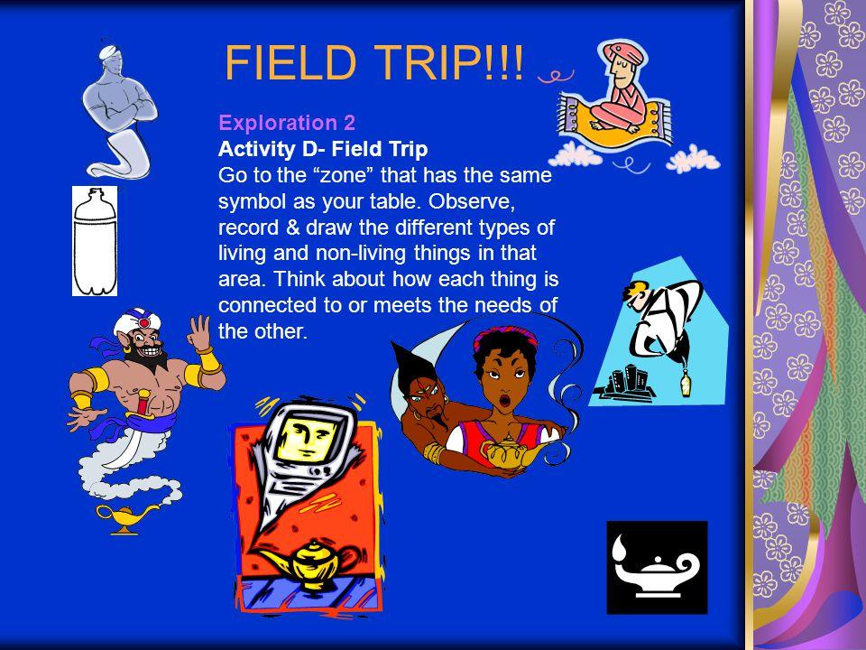 FIELD TRIP!!.