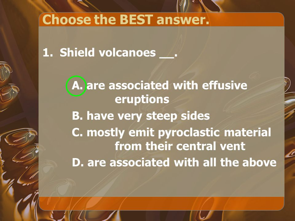 Choose the BEST answer.2. Hawaii is made of volcanoes due to ___.