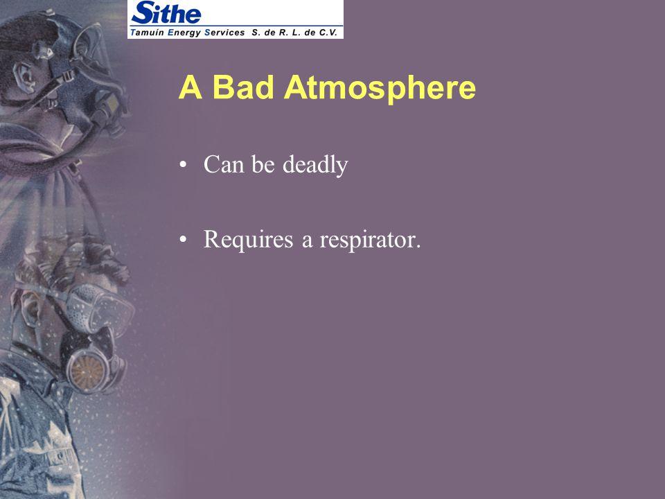 Types of Hazardous Atmospheres Deficient Contaminated Hazard determines respirator used.
