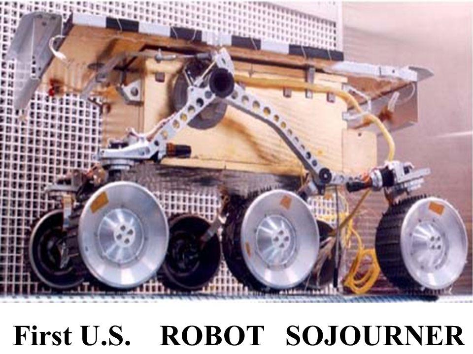 First U.S. ROBOT SOJOURNER