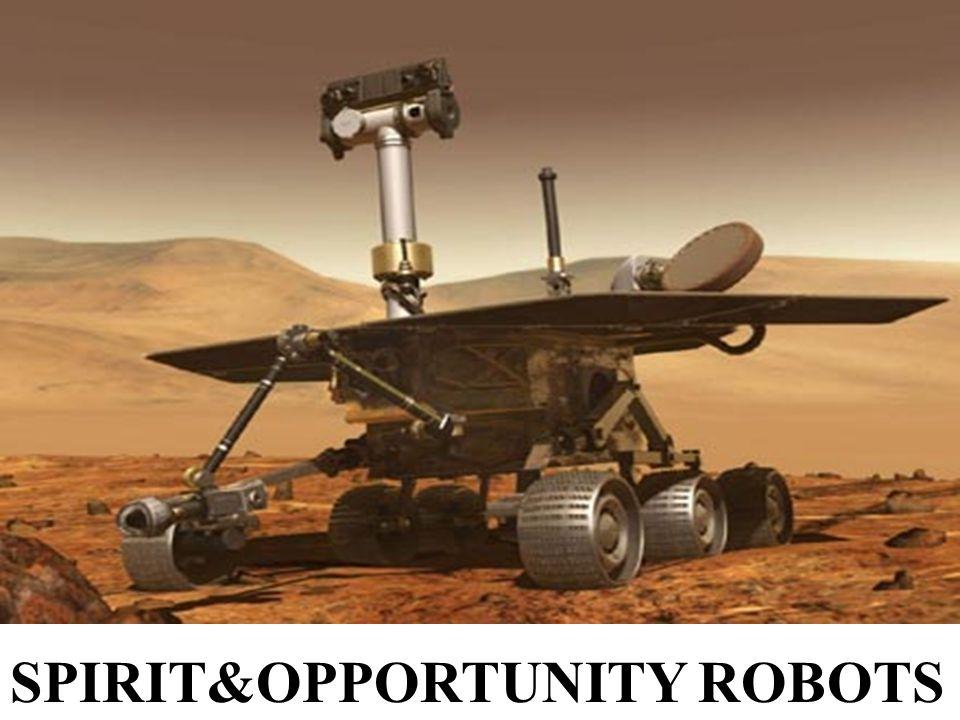 SPIRIT&OPPORTUNITY ROBOTS