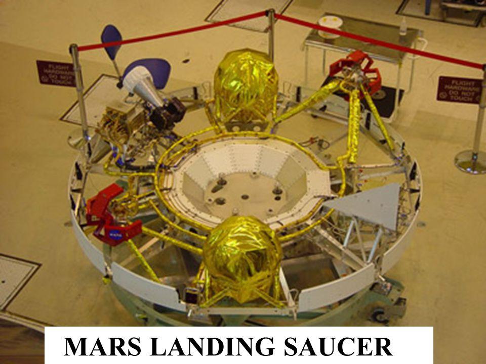 MARS LANDING SAUCER