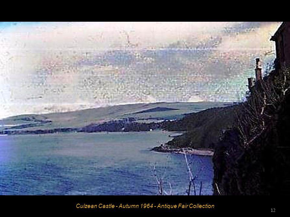 Culzean Castle - Autumn 1964 - Antique Fair Collection 11