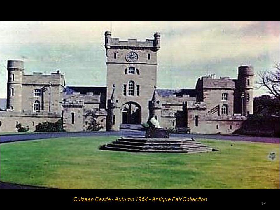 Culzean Castle - Autumn 1964 - Antique Fair Collection 12