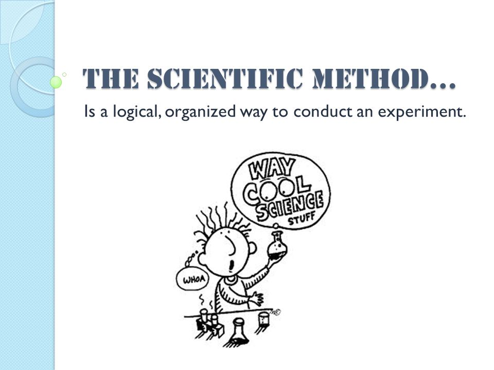 Step 6: Conduct an Experiment Carefully follow the procedure you designed for testing your hypothesis.