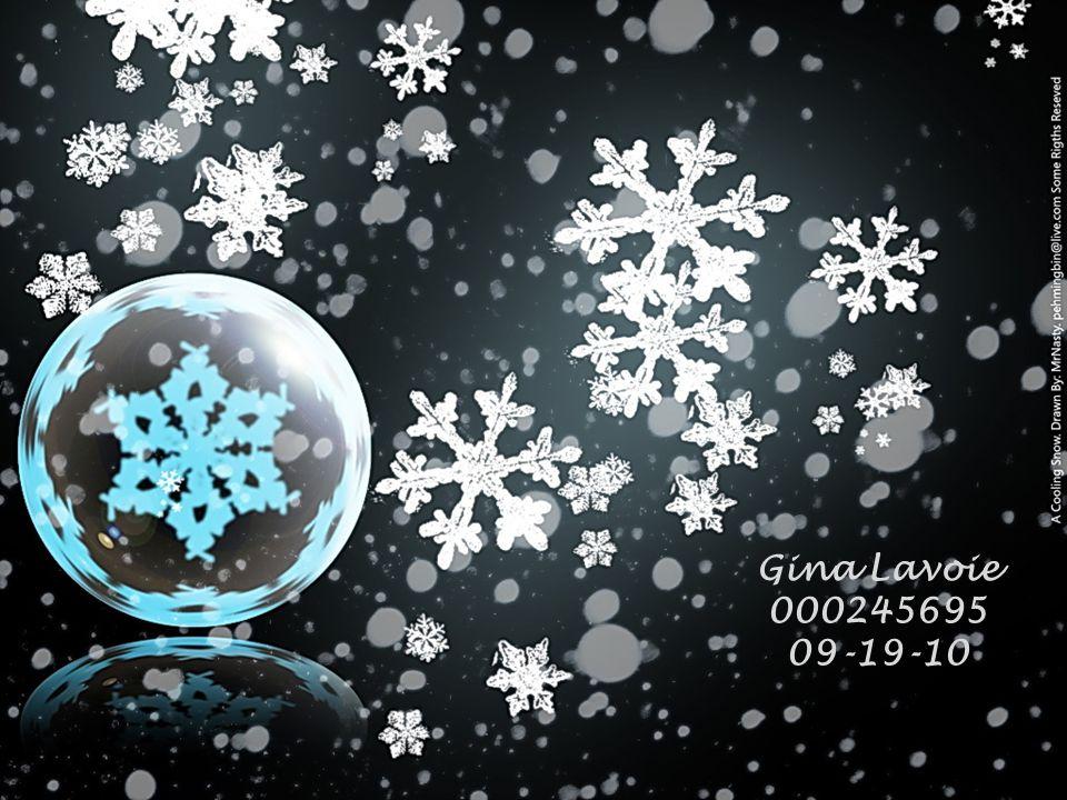 Gina Lavoie 000245695 09-19-10