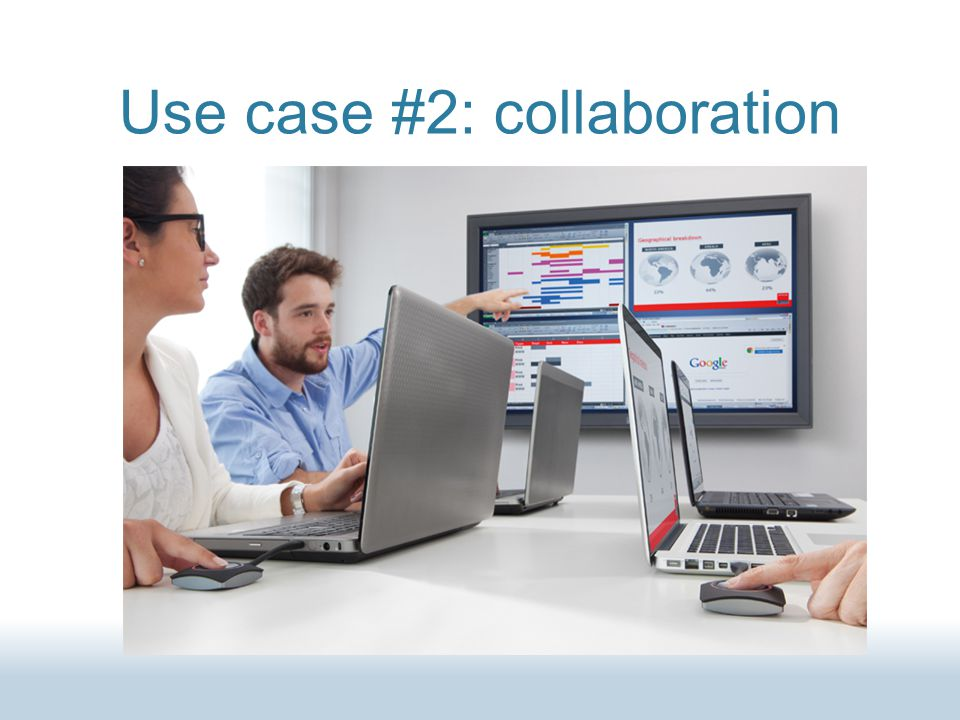 Use case #2: collaboration