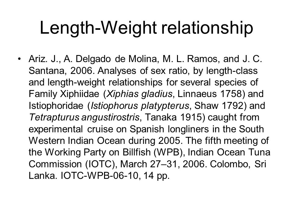 Age-length key Proportion that a fish with length X assigned to be a age X (age-length key)