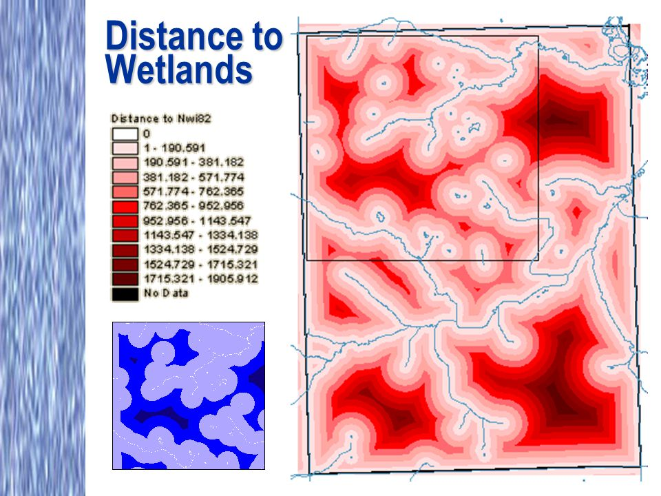 Distance to Wetlands