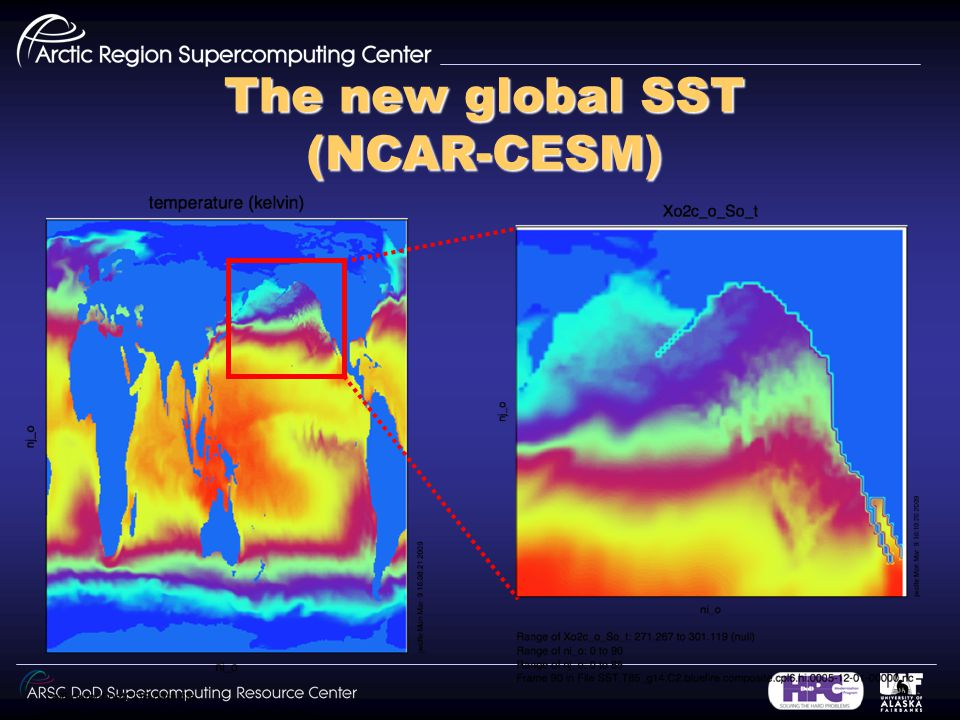 The new global SST (NCAR-CESM)
