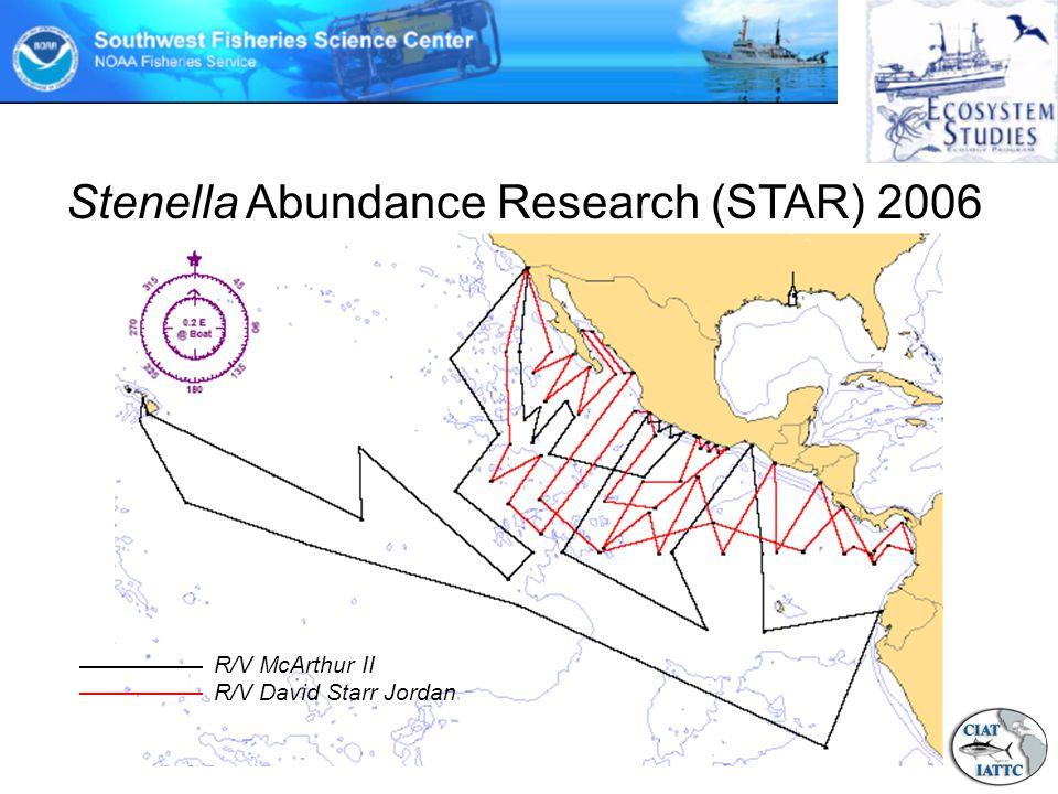 Stenella Abundance Research (STAR) 2006 R/V McArthur II R/V David Starr Jordan