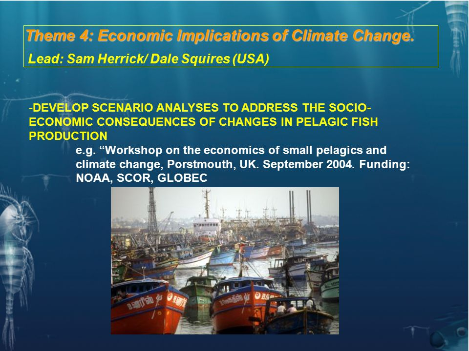 Theme 4: Economic Implications of Climate Change.