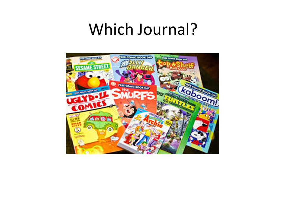Which Journal