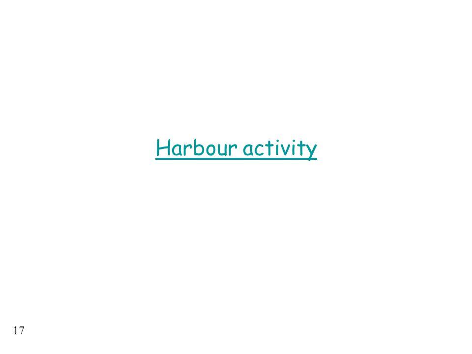 17 Harbour activity