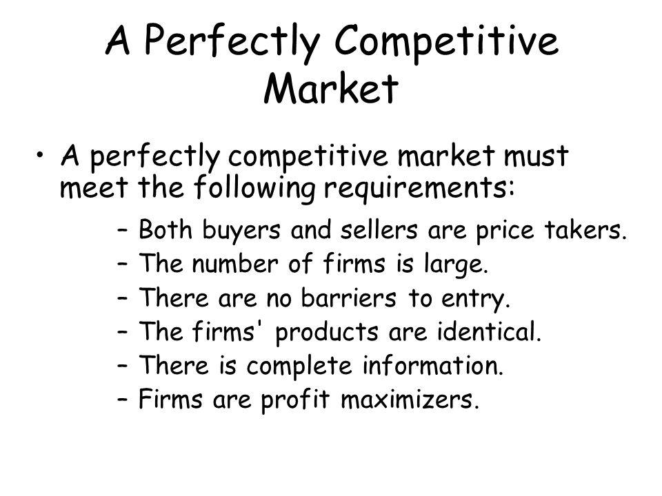 Firms Maximize Total Profit When we speak of maximizing profit, we refer to maximizing total profit, not profit per unit.