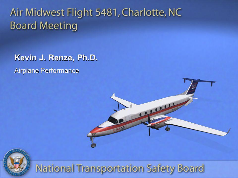 Kevin J. Renze, Ph.D. Airplane Performance