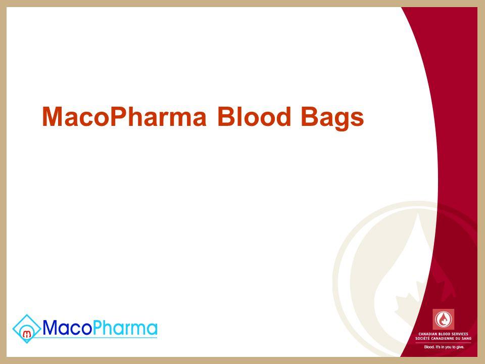 MacoPharma Blood Bags