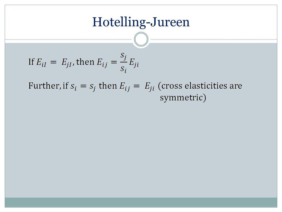 Hotelling-Jureen