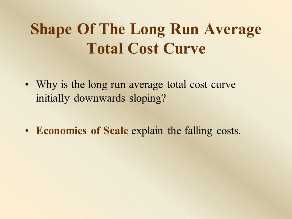 Causes of Economies of Scale