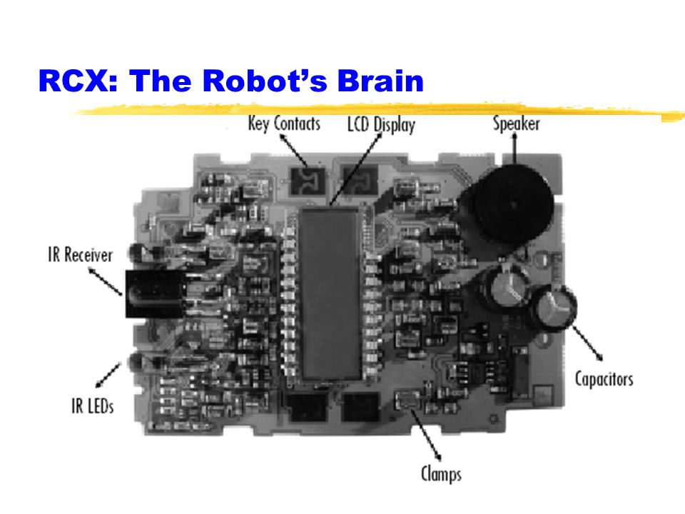 RCX: The Robot's Brain