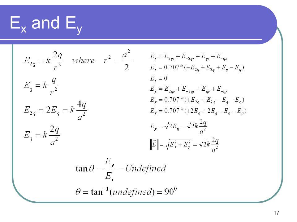17 E x and E y