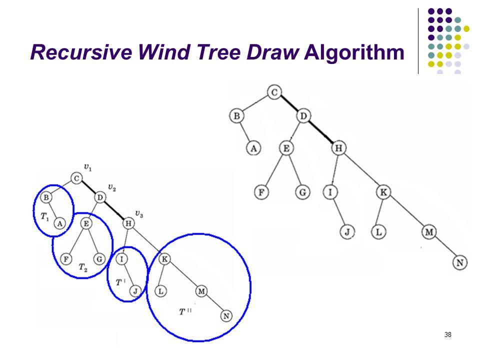 38 Recursive Wind Tree Draw Algorithm