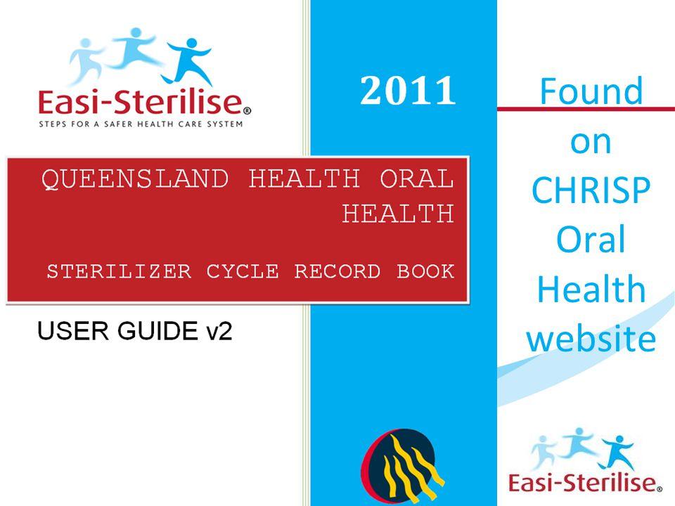 Found on CHRISP Oral Health website