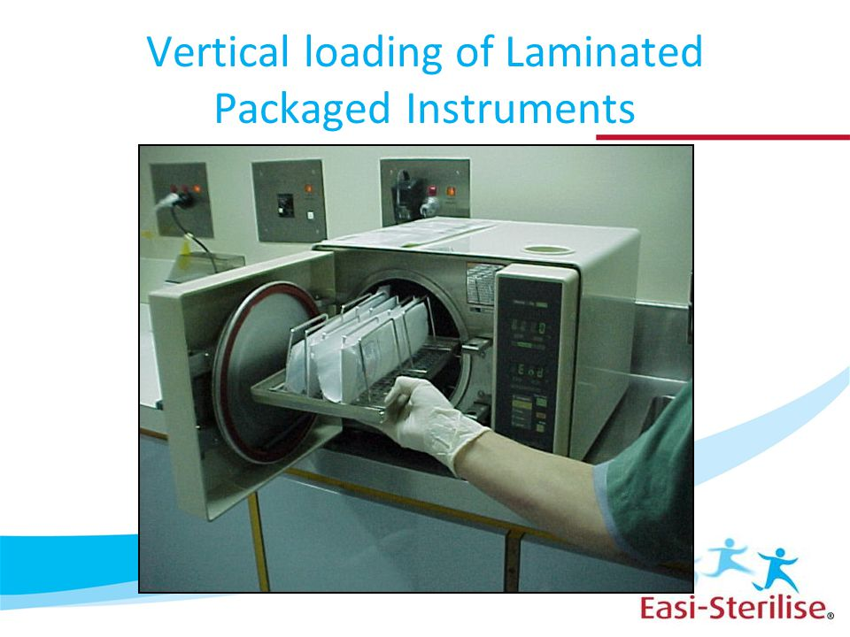 Vertical loading of Laminated Packaged Instruments