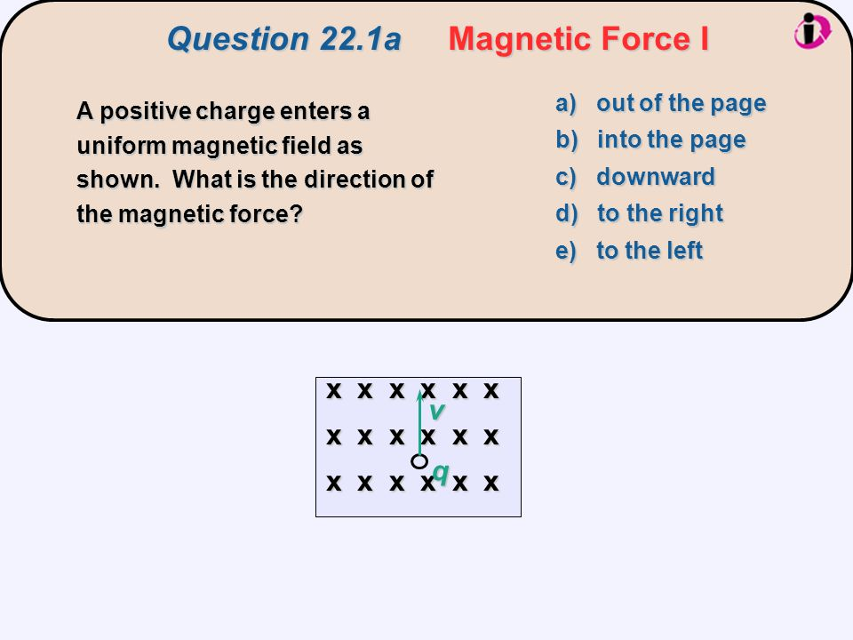 parallel zero When the current is parallel to the magnetic field lines, the force on the wire is zero.