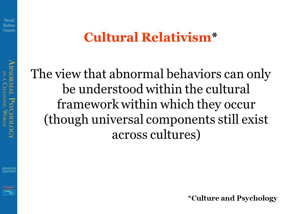 Culture Bound Syndromes* Disorders that appear to occur only in specific cultural milieus *Culture and Psychology