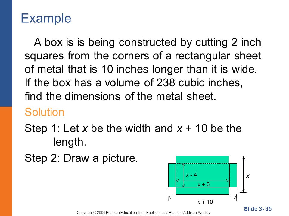 Slide 3- 35 Copyright © 2006 Pearson Education, Inc.