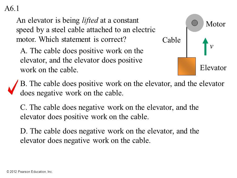 © 2012 Pearson Education, Inc.Q6.2 A.