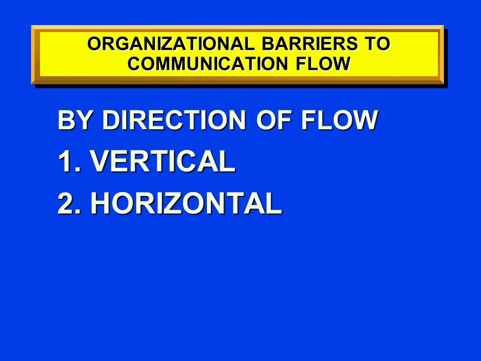 BARRIERS TO DOWNWARD COMMUNICATION 1.ONE-WAY COMMUNICATION –NO FEEDBACK 2.DIFFERENCES IN VALUES AND PERCEPTIONS 3.MISTRUST 4.PSYCHIC CONFLICTS OF LEADERSHIP