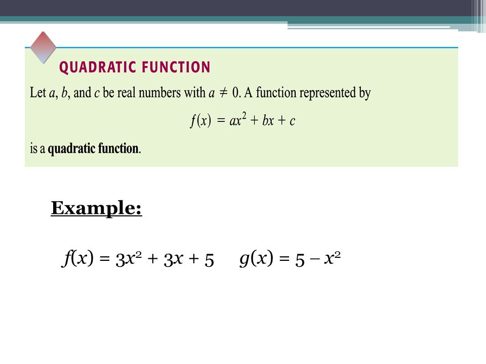 Graphing Quadratic Function: Method 2