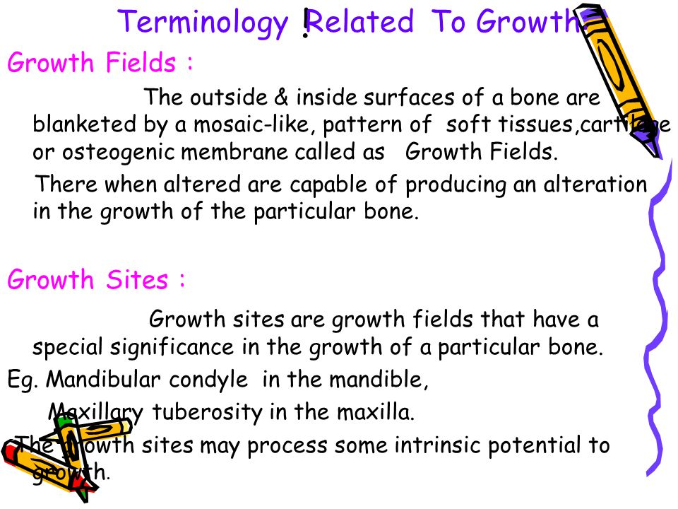Remodeling : It is the differential growth activity involving simultaneous deposition & resorption on all the inner & outer surfaces of the bone.