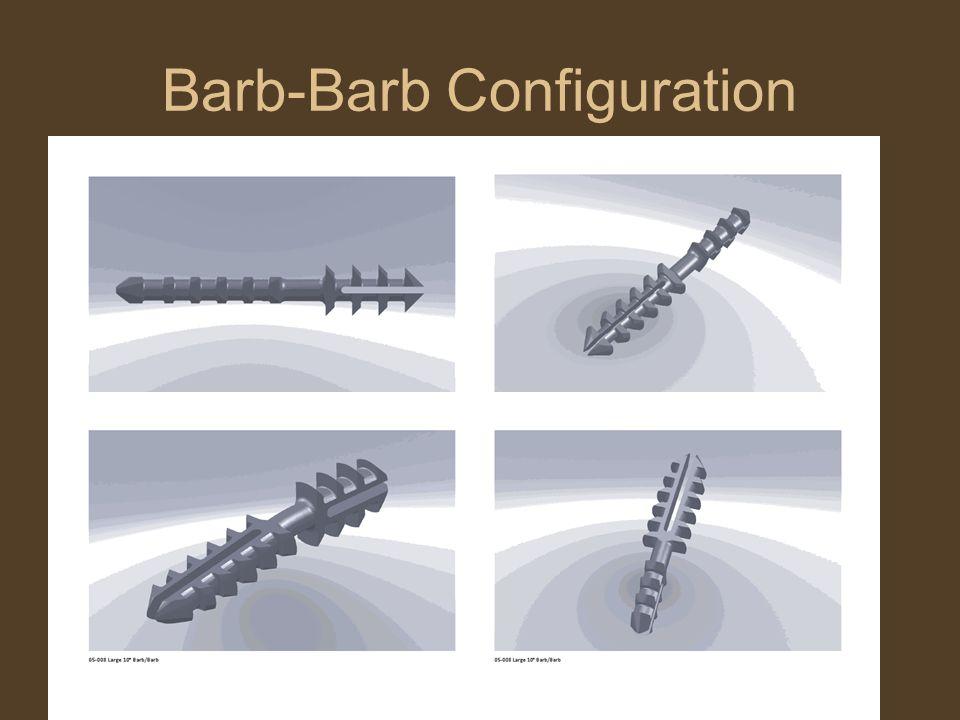Barb-Barb Configuration